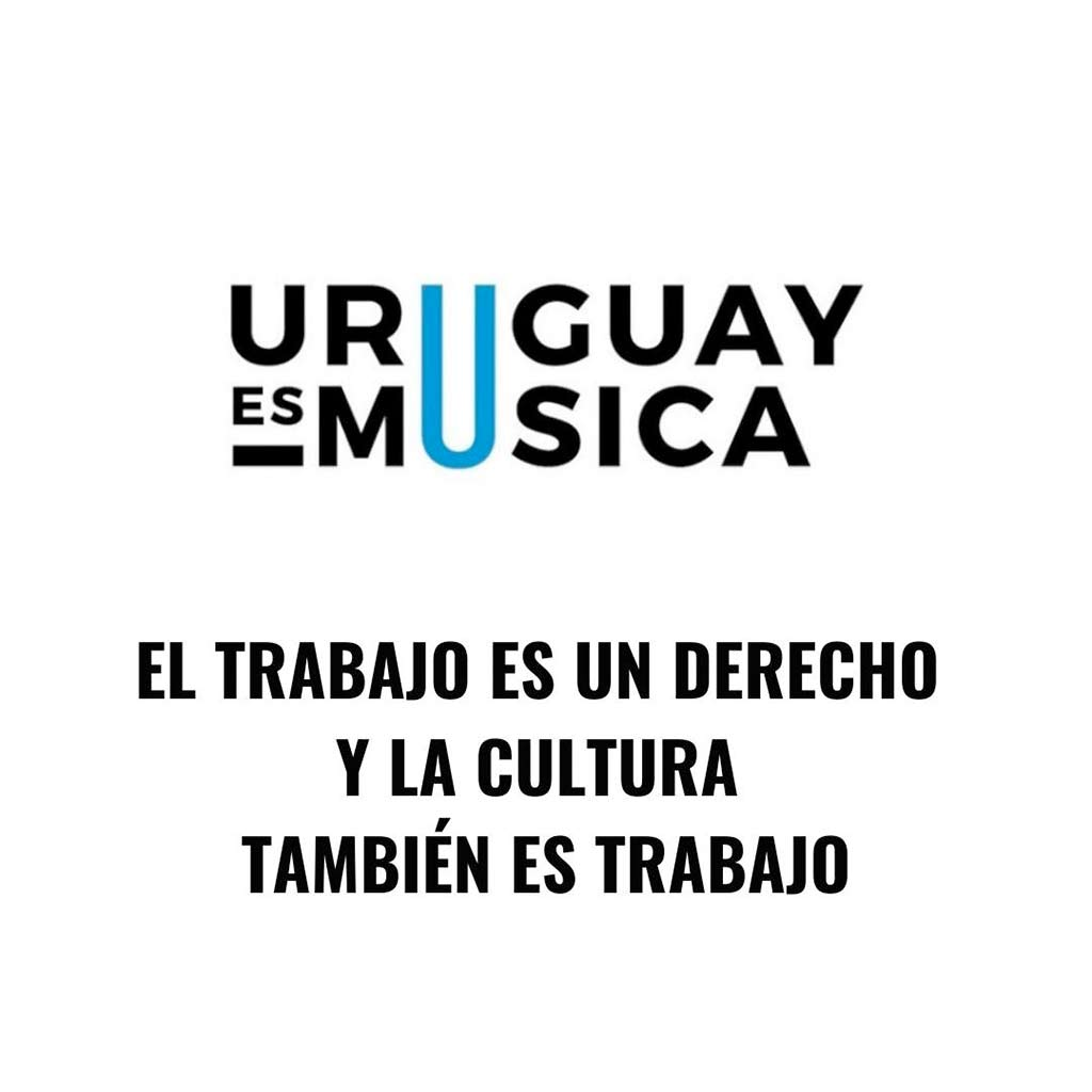 El colectivo Uruguay es Música reclama retorno de los espectáculos en vivo