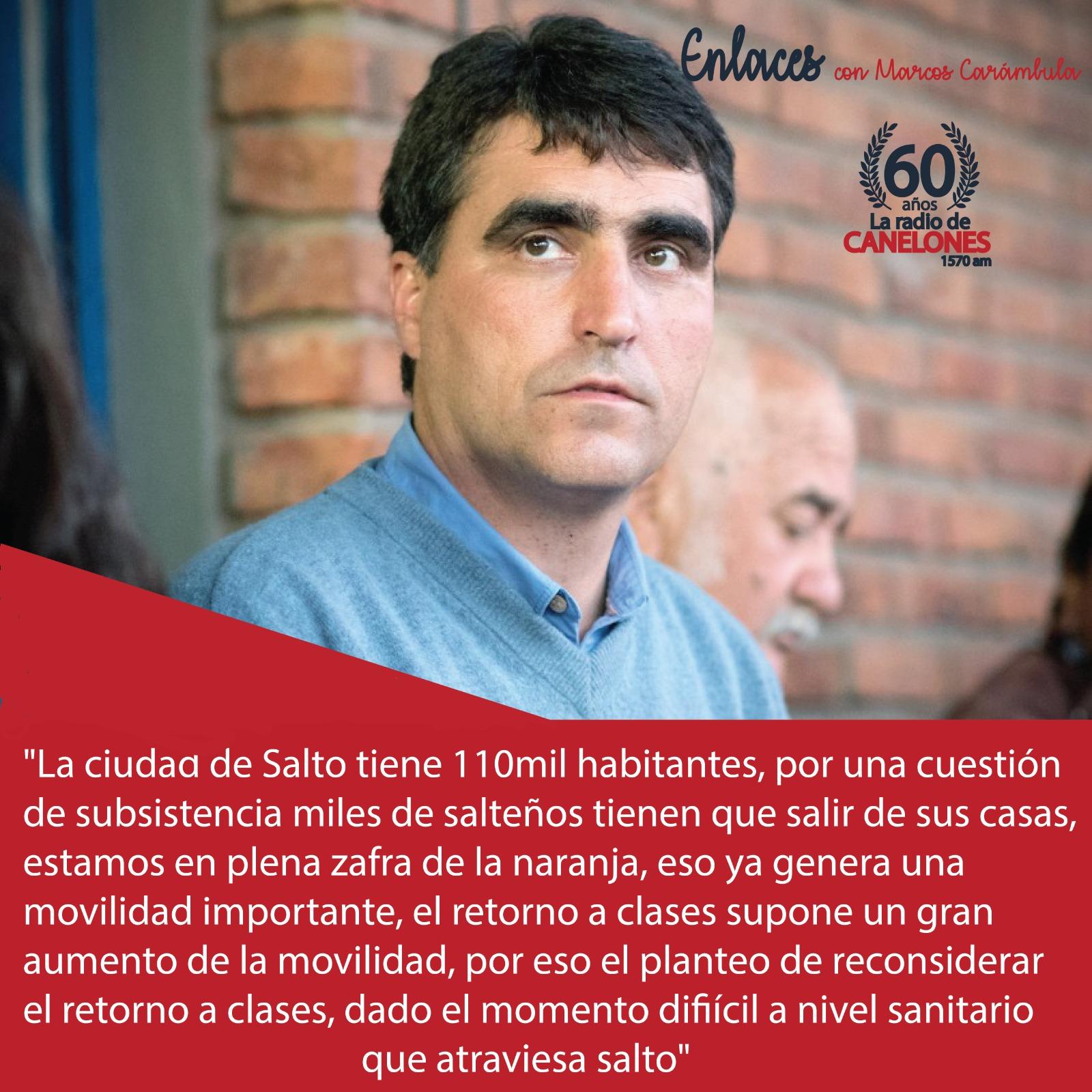 «Enlaces» Con el Intendente Dr.Andrés Lima