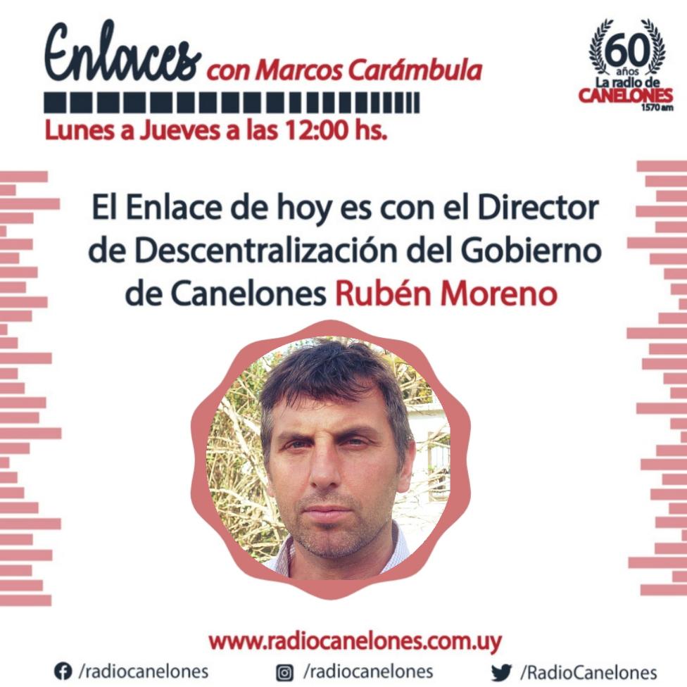 Enlaces con Ruben Moreno