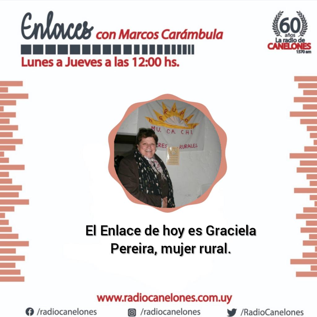 Enlaces con Graciela Pereira, mujer rural de Canelón Chico