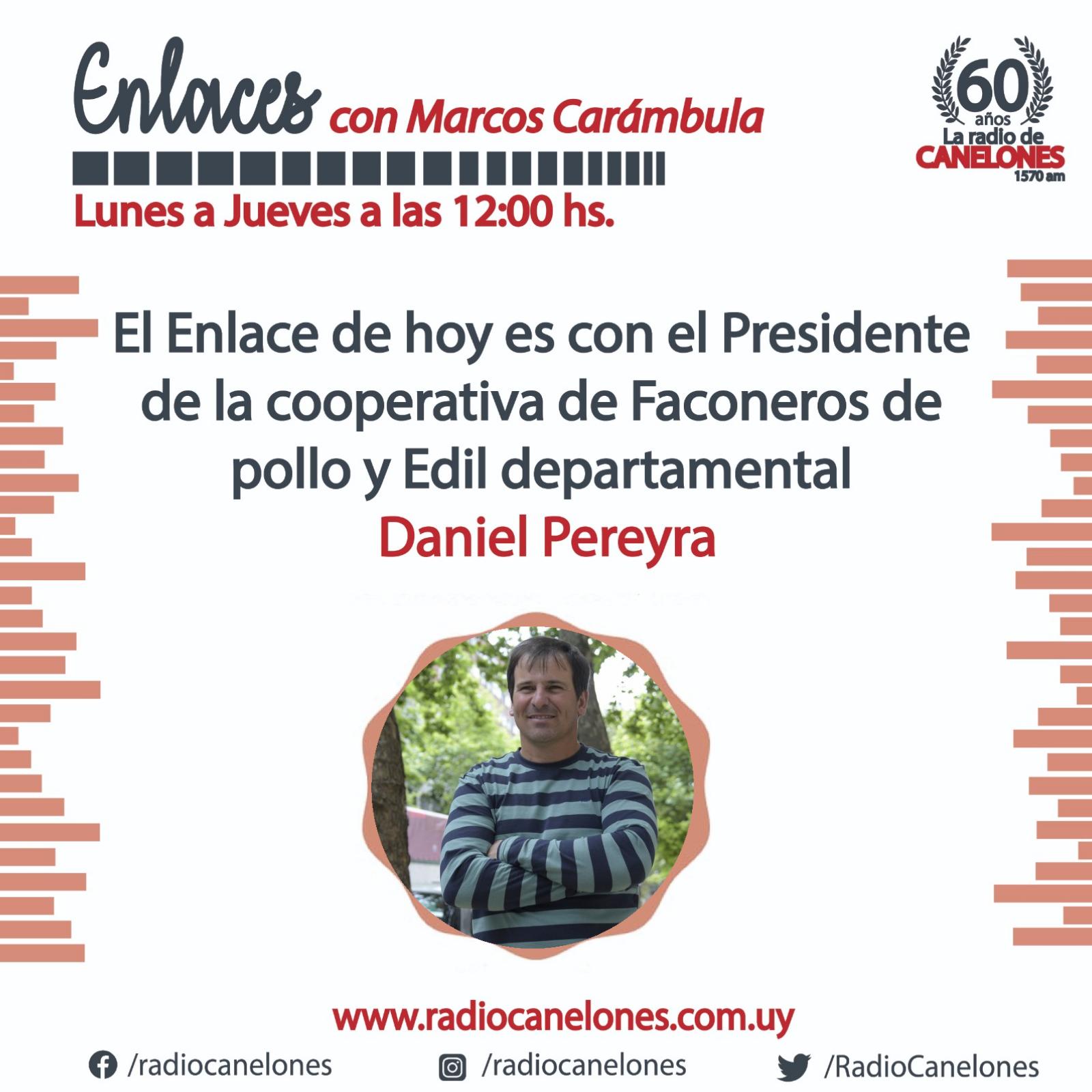 Enlaces con Daniel Pereyra