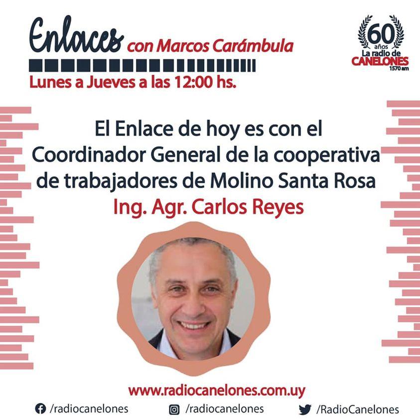 «Enlaces» con el Ing. Agr. Carlos Reyes