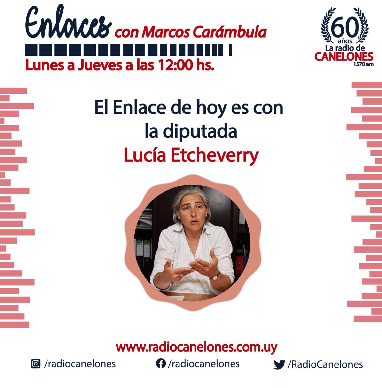 «Enlaces» con Lucía Etcheverry