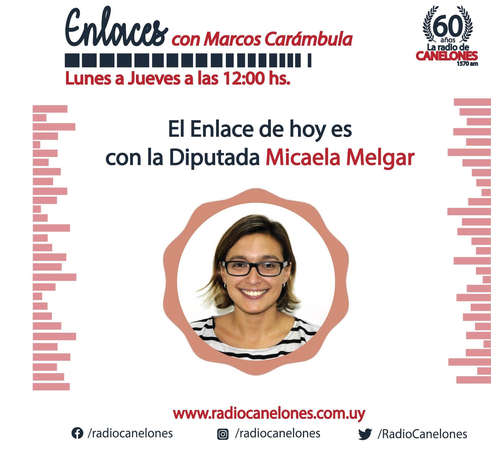 «Enlaces» con Micaela Melgar