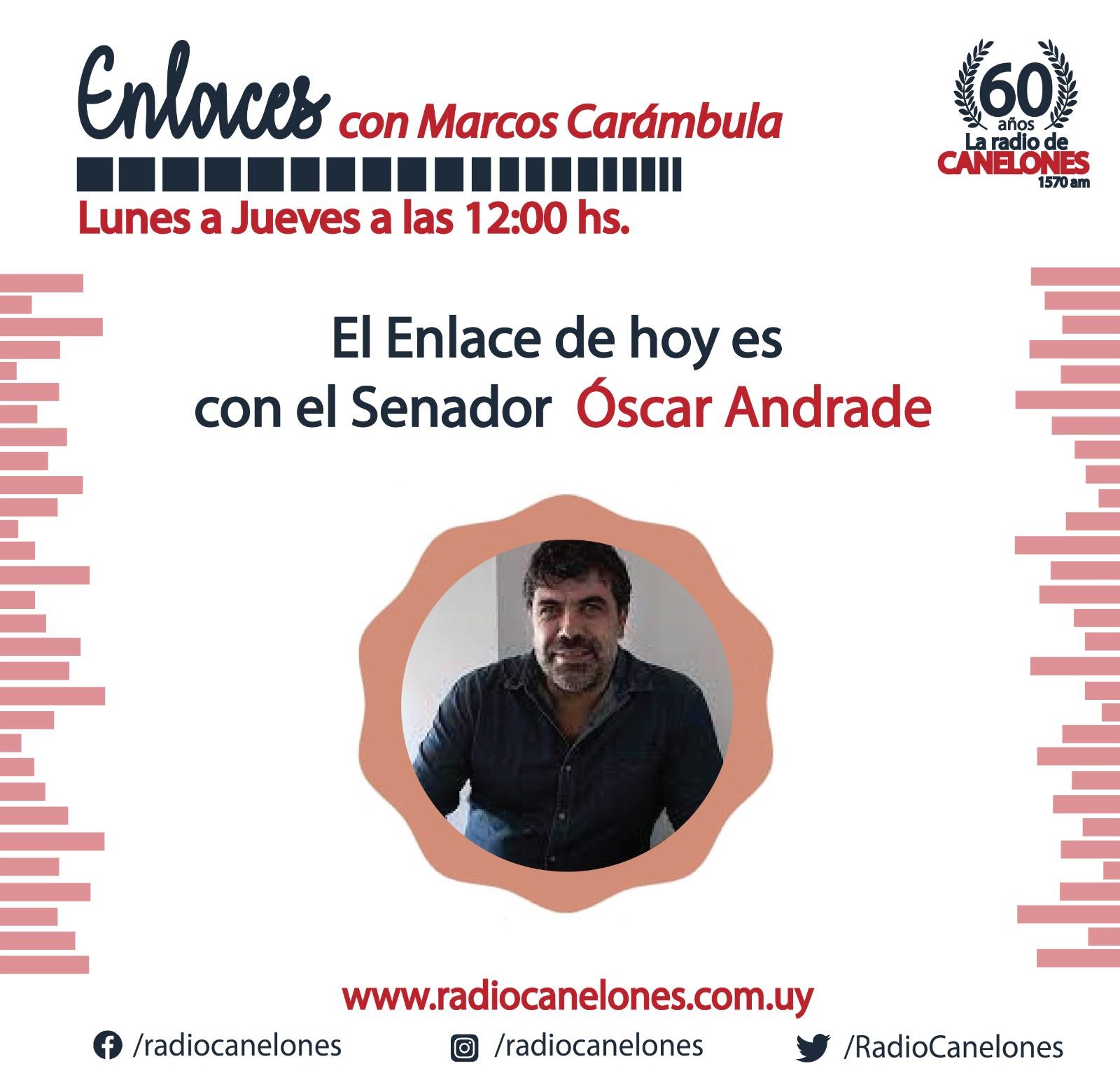 «Enlaces» con Óscar Andrade