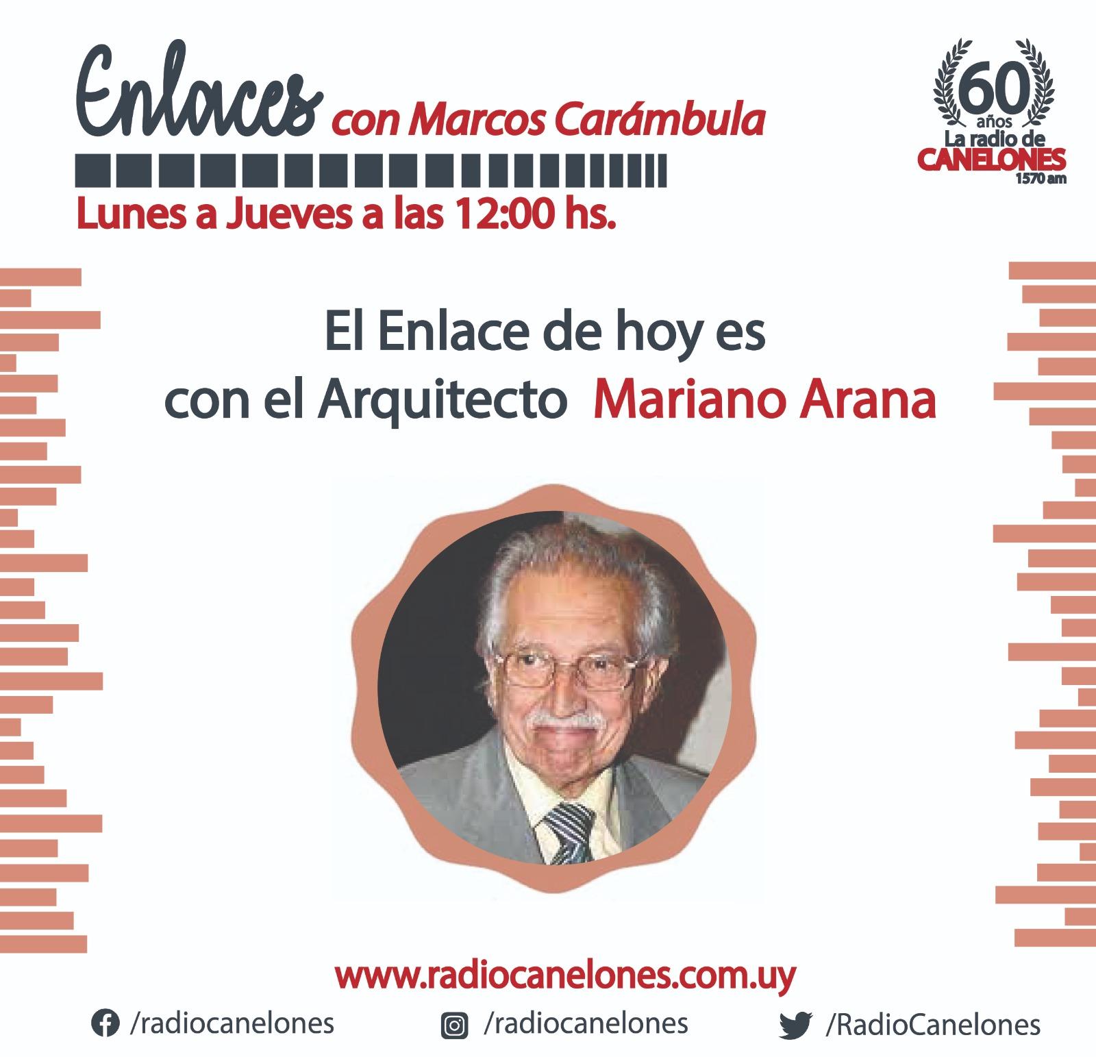 «Enlaces» con Mariano Arana