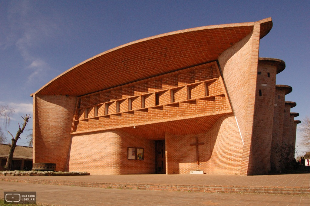 Iglesia Cristo Obrero de Atlántida propuesta como candidata a Patrimonio de la Humanidad