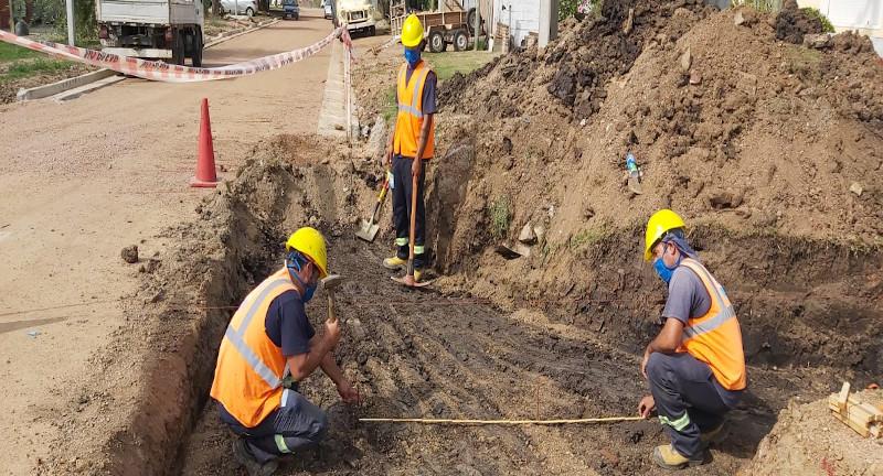 Obras pausadas en Ciudad de Canelones