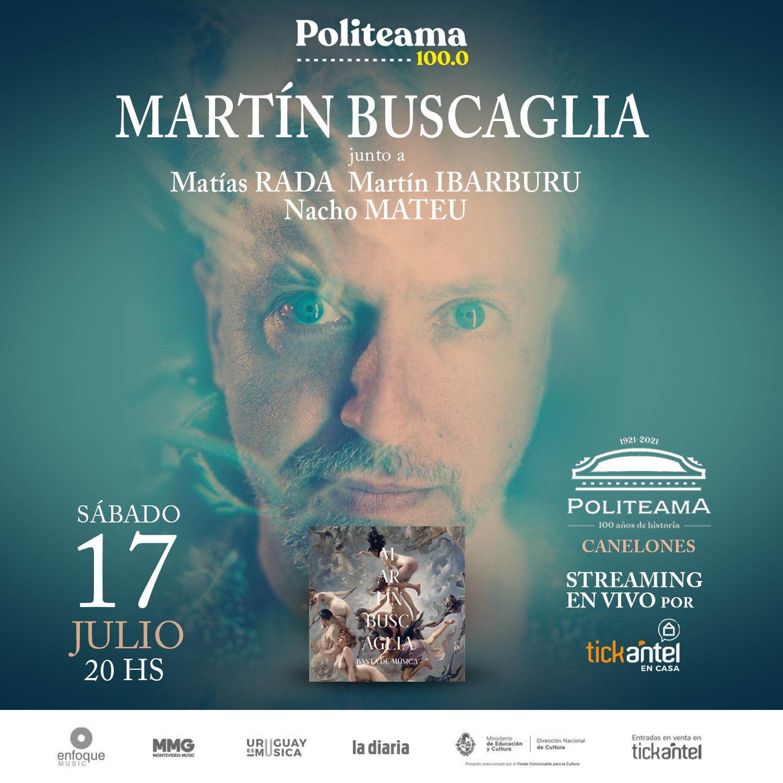 Martín Buscaglia en el Politeama