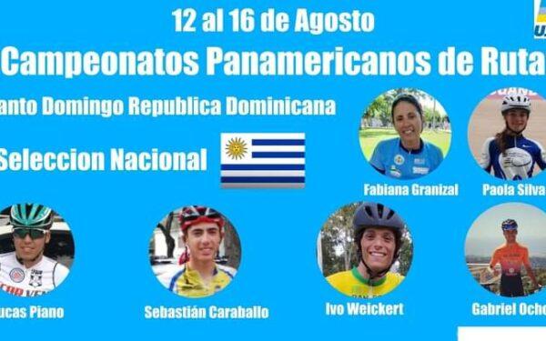 Uruguay compitió en el Panamericano de ruta 2021.