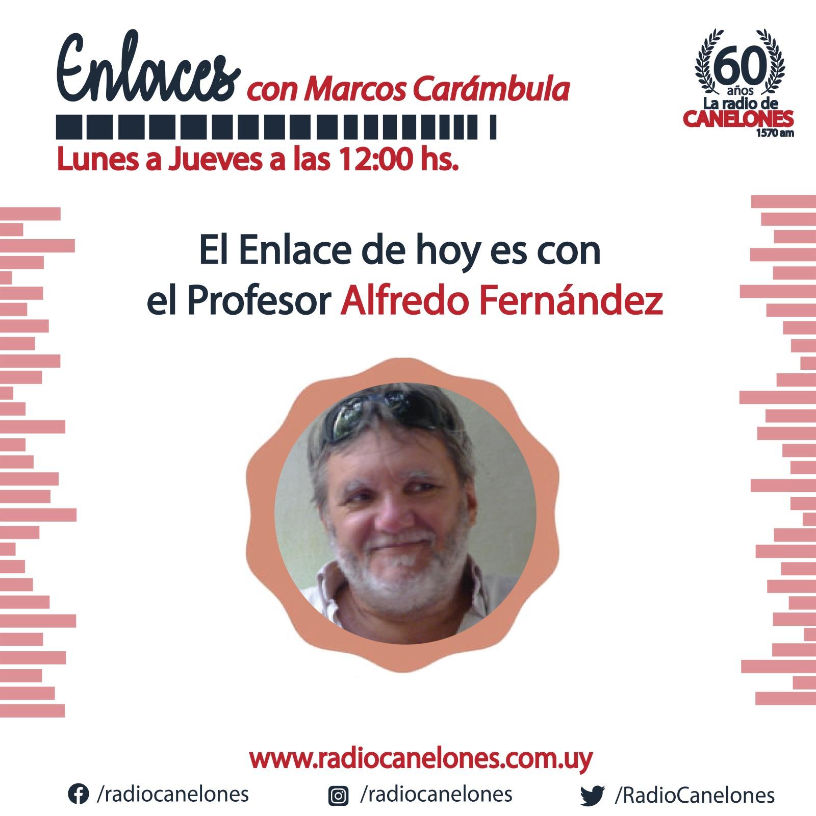 «Enlaces» con el profesor Alfredo Fernández