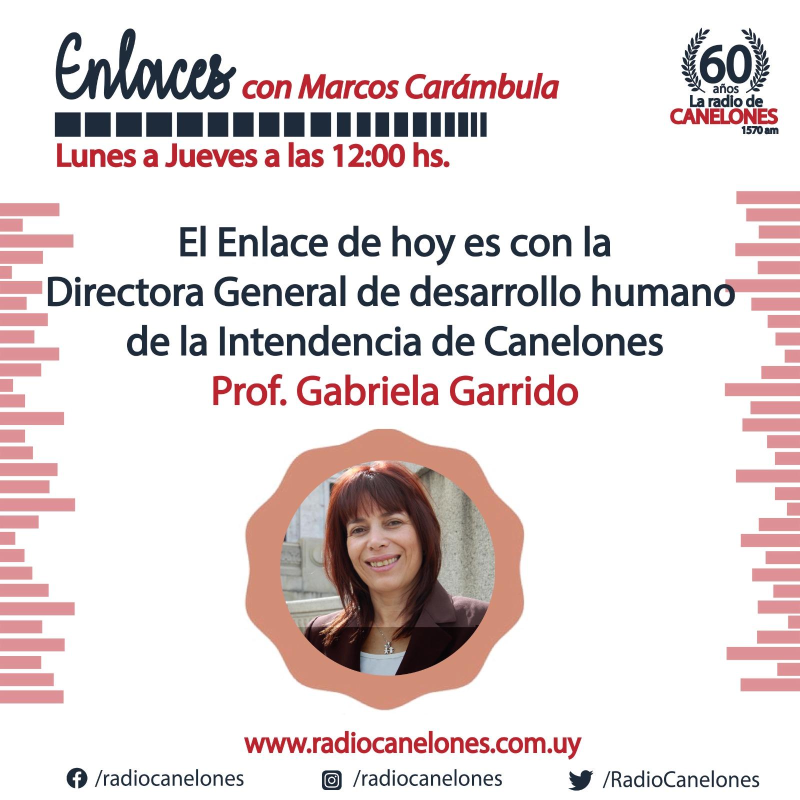 «Enlaces» con Gabriela Garrido