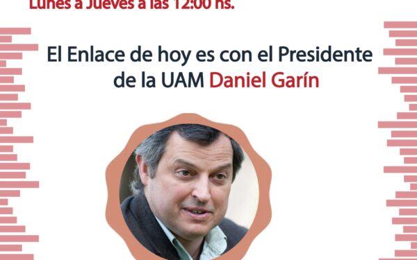 «Enlaces» con Daniel Garín