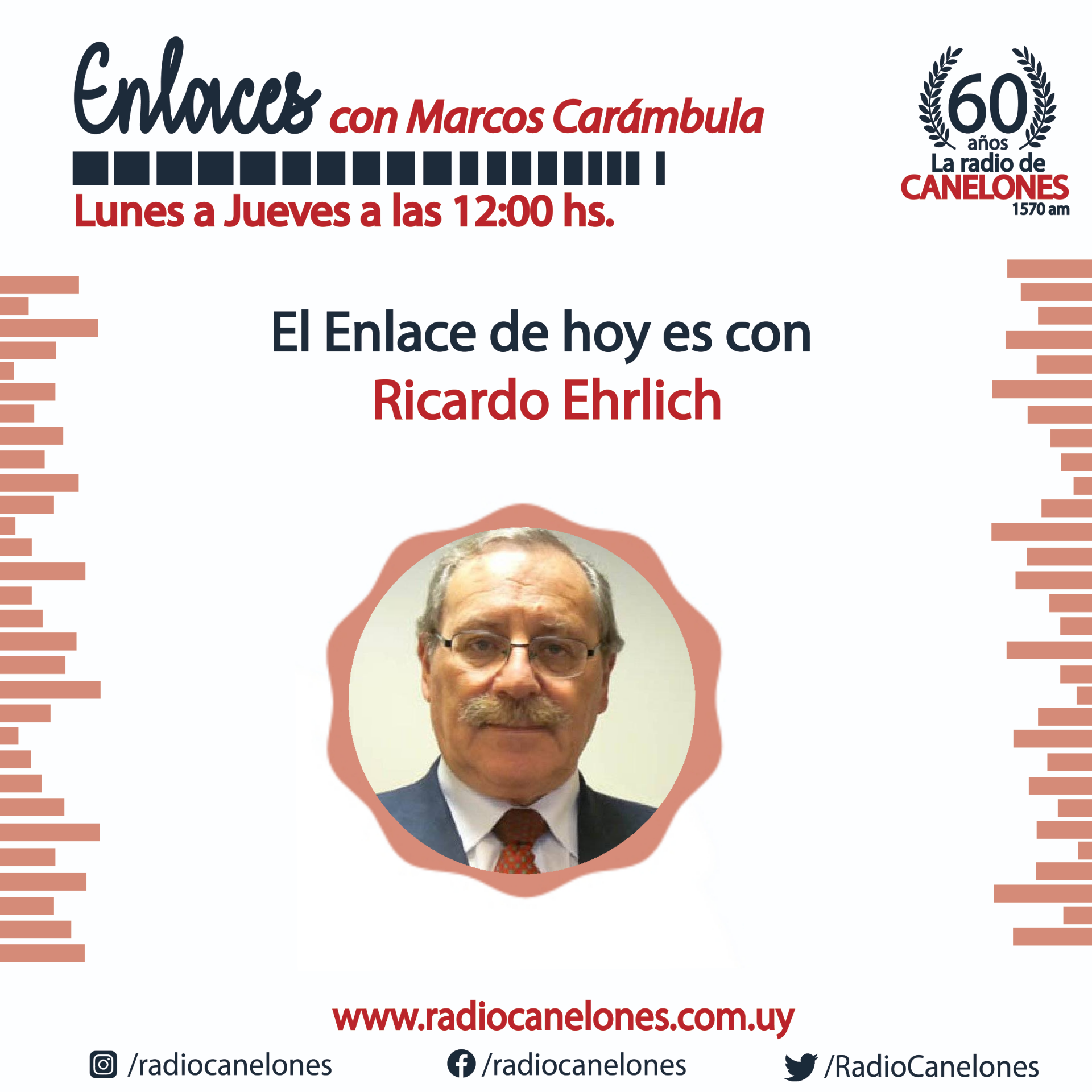 «Enlaces» con Ricardo Ehrlich