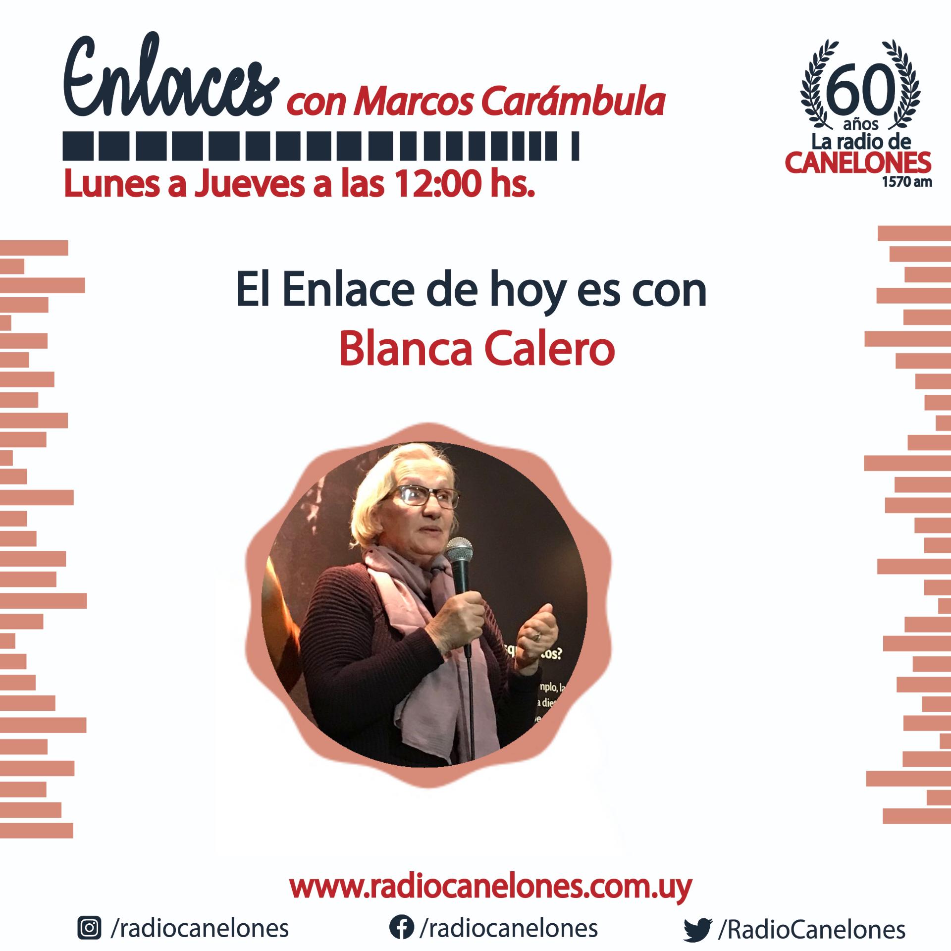 «Enlaces» con Blanca Calero