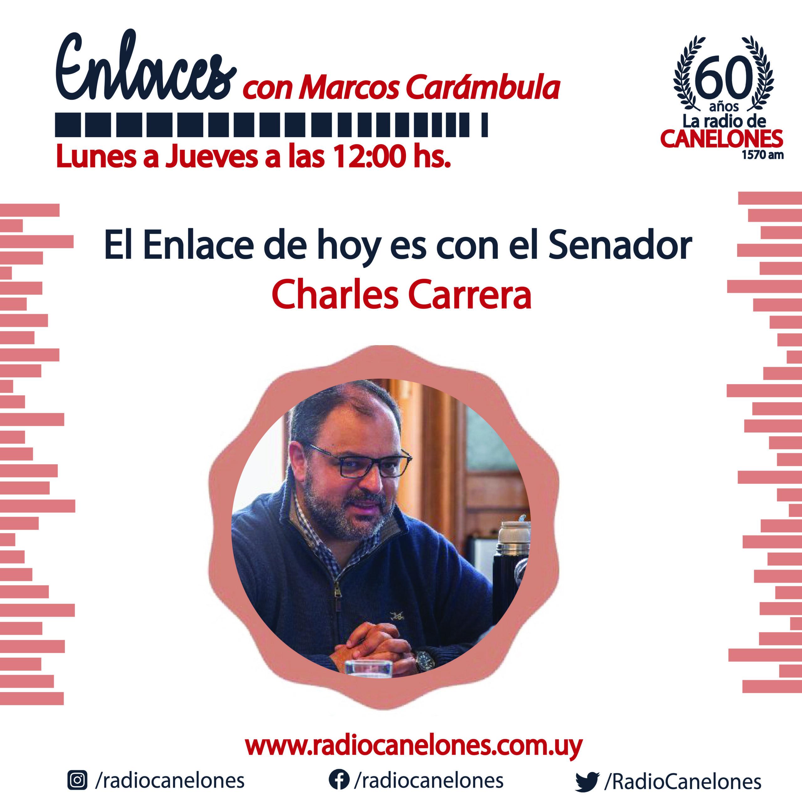 «Enlaces» con Charles Carrera
