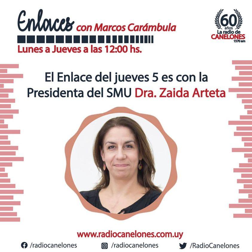 «Enlaces» con la Dra. Zaida Arteta