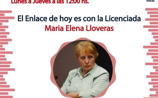 «Enlaces» con María Elena LLoveras