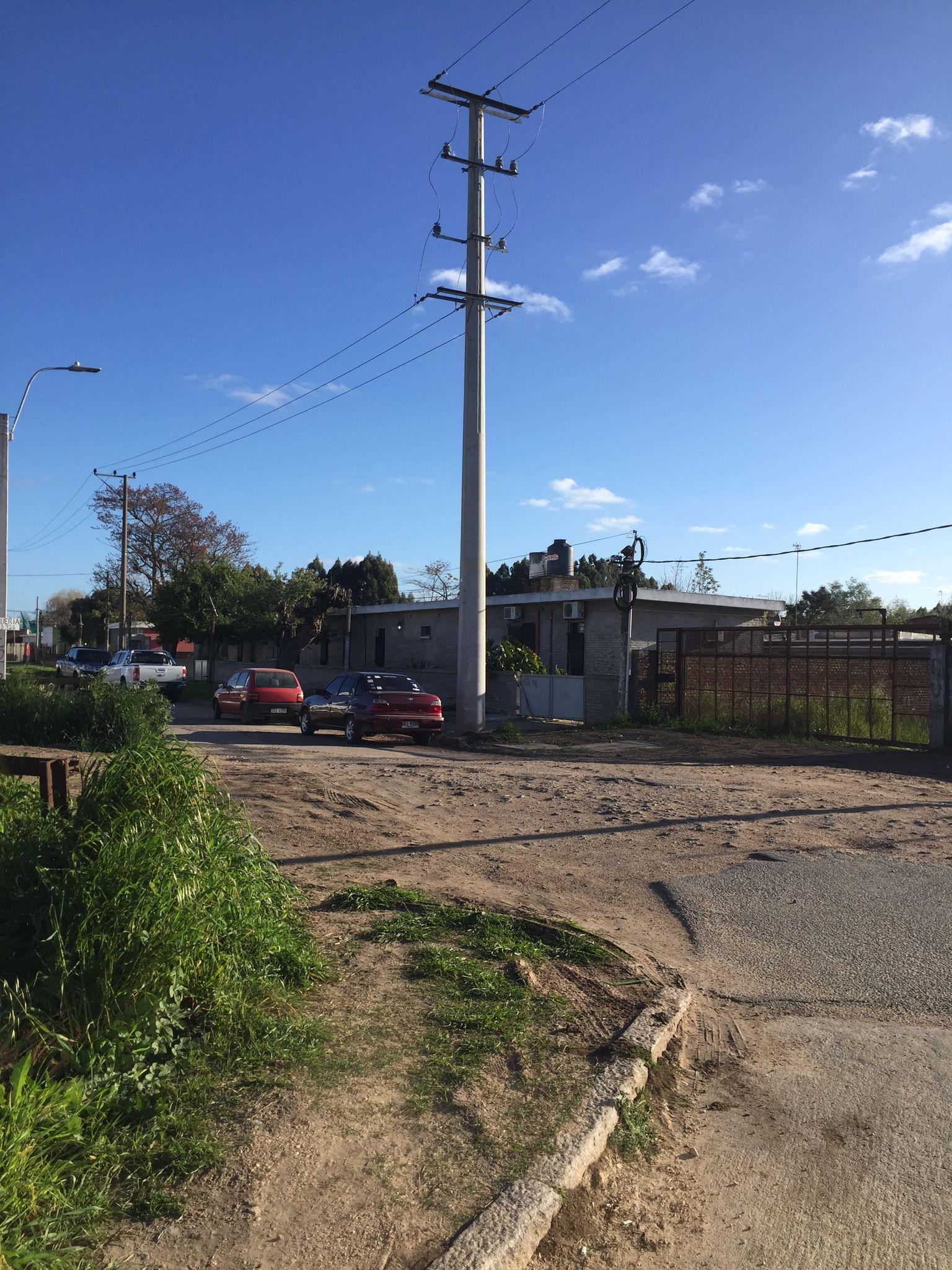 Ferrocarril Central y barrios canarios afectados