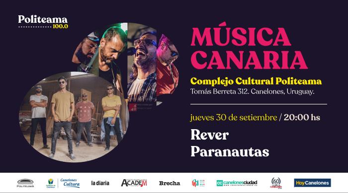 Paranautas participa en el Ciclo de Música Canaria en Politeama