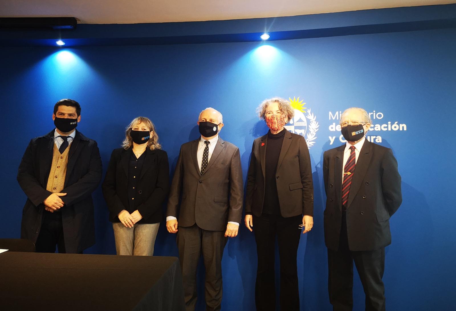 UTE y MEC anunciaron medidas en apoyo al sector cultural